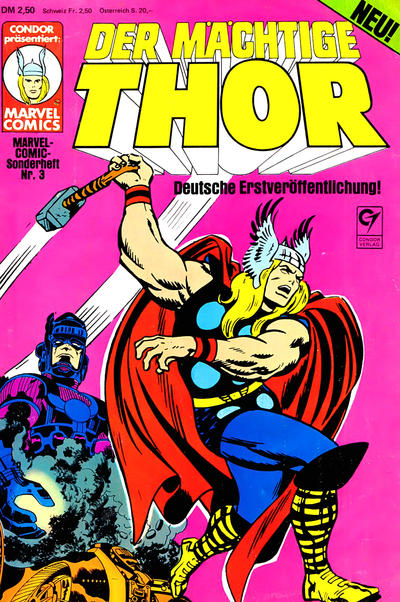 Cover for Marvel-Comic-Sonderheft (Condor, 1980 series) #3