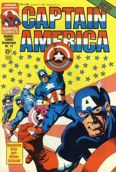Cover for Marvel-Comic-Sonderheft (Condor, 1980 series) #14