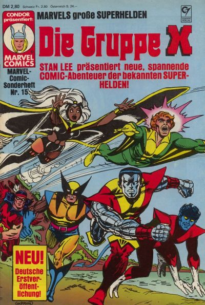 Cover for Marvel-Comic-Sonderheft (Condor, 1980 series) #15