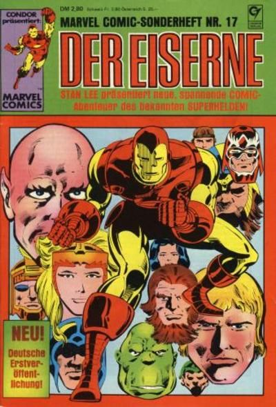 Cover for Marvel-Comic-Sonderheft (Condor, 1980 series) #17