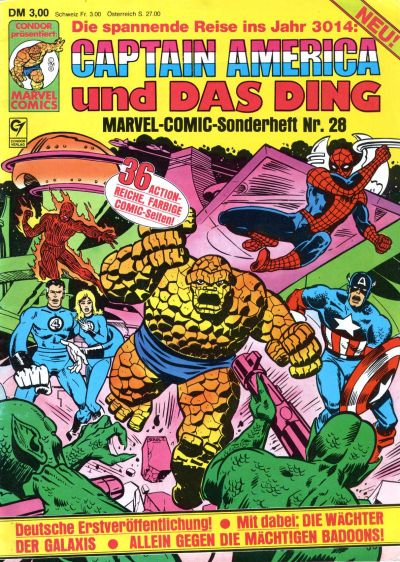 Cover for Marvel-Comic-Sonderheft (Condor, 1980 series) #28