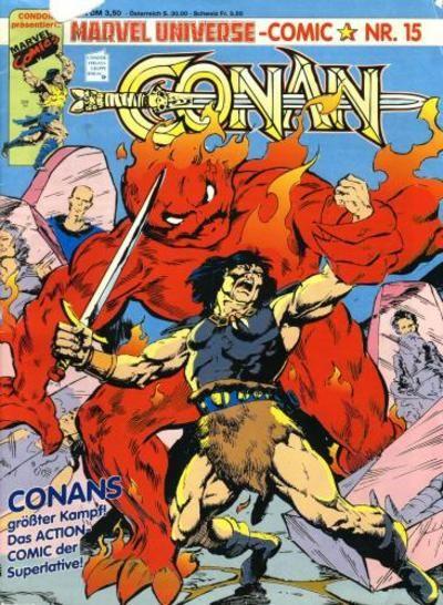 Cover for Marvel Universe Comic (Condor, 1991 series) #15