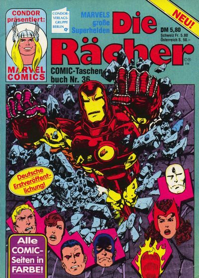 Cover for Die Rächer (Condor, 1979 series) #36