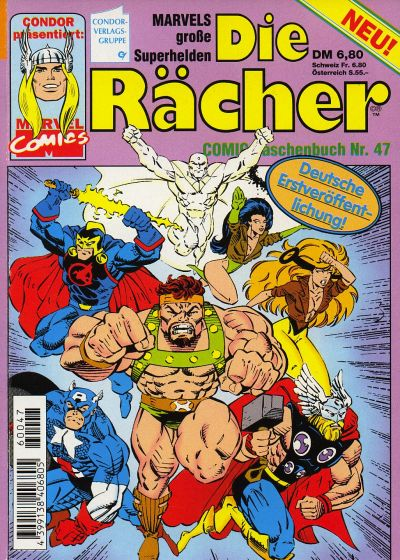 Cover for Die Rächer (Condor, 1979 series) #47