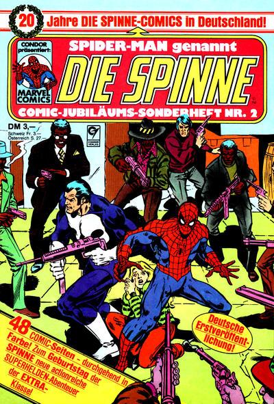 Cover for Die Spinne Comic-Jubiläums-Sonderheft (Condor, 1986 series) #2