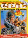 Cover for Epic (Condor, 1983 series) #2