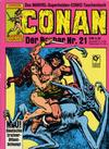 Cover for Conan (Condor, 1979 series) #21