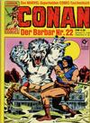 Cover for Conan (Condor, 1979 series) #22