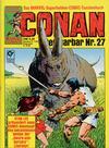 Cover for Conan (Condor, 1979 series) #27