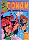 Cover for Conan (Condor, 1979 series) #30