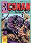 Cover for Conan (Condor, 1979 series) #31