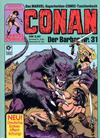Cover for Conan (Condor, 1979 series) #31