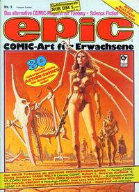 Cover Thumbnail for Epic (Condor, 1983 series) #3