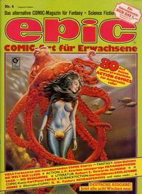 Cover Thumbnail for Epic (Condor, 1983 series) #4