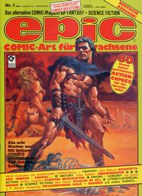 Cover Thumbnail for Epic (Condor, 1983 series) #7