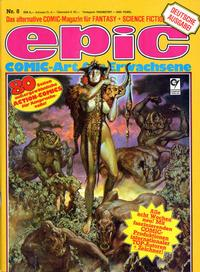 Cover Thumbnail for Epic (Condor, 1983 series) #8