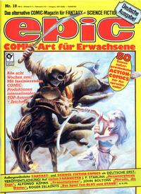 Cover Thumbnail for Epic (Condor, 1983 series) #10