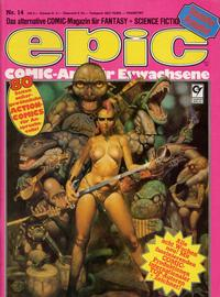 Cover Thumbnail for Epic (Condor, 1983 series) #14