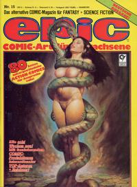 Cover Thumbnail for Epic (Condor, 1983 series) #15