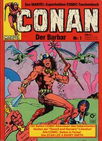 Cover Thumbnail for Conan (Condor, 1979 series) #1