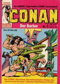 Cover Thumbnail for Conan (Condor, 1979 series) #3