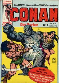 Cover Thumbnail for Conan (Condor, 1979 series) #4