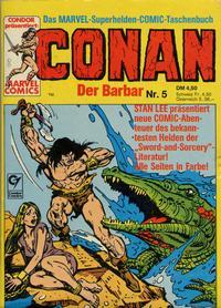 Cover Thumbnail for Conan (Condor, 1979 series) #5