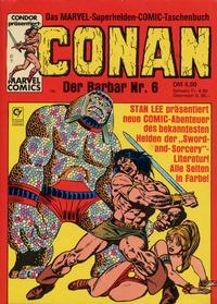 Cover Thumbnail for Conan (Condor, 1979 series) #6