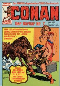 Cover Thumbnail for Conan (Condor, 1979 series) #7