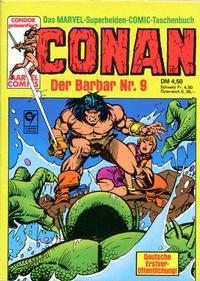 Cover Thumbnail for Conan (Condor, 1979 series) #9