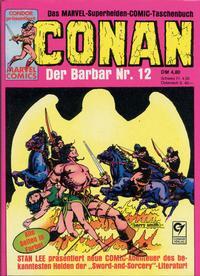 Cover Thumbnail for Conan (Condor, 1979 series) #12