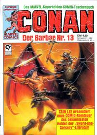 Cover Thumbnail for Conan (Condor, 1979 series) #13