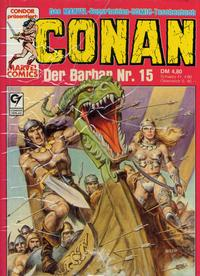 Cover Thumbnail for Conan (Condor, 1979 series) #15
