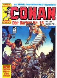 Cover Thumbnail for Conan (Condor, 1979 series) #16