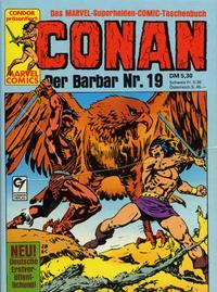 Cover Thumbnail for Conan (Condor, 1979 series) #19