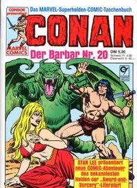 Cover Thumbnail for Conan (Condor, 1979 series) #20