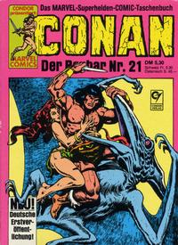 Cover Thumbnail for Conan (Condor, 1979 series) #21
