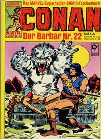 Cover Thumbnail for Conan (Condor, 1979 series) #22