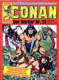 Cover Thumbnail for Conan (Condor, 1979 series) #23