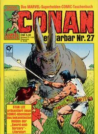 Cover Thumbnail for Conan (Condor, 1979 series) #27