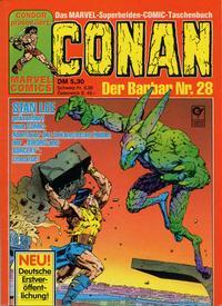 Cover Thumbnail for Conan (Condor, 1979 series) #28