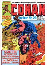 Cover Thumbnail for Conan (Condor, 1979 series) #29