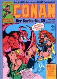 Cover Thumbnail for Conan (Condor, 1979 series) #30