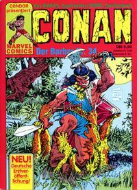 Cover Thumbnail for Conan (Condor, 1979 series) #34