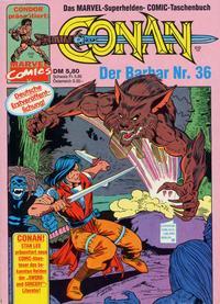 Cover Thumbnail for Conan (Condor, 1979 series) #36