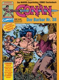 Cover Thumbnail for Conan (Condor, 1979 series) #38