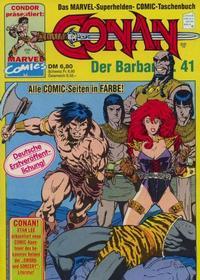 Cover Thumbnail for Conan (Condor, 1979 series) #41
