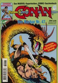 Cover Thumbnail for Conan (Condor, 1979 series) #47
