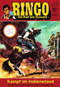 Cover Thumbnail for Ringo (Condor, 1972 series) #16