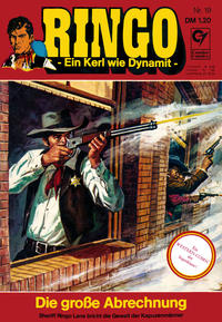 Cover Thumbnail for Ringo (Condor, 1972 series) #19